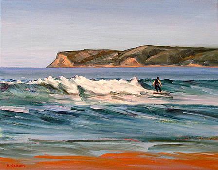 Coronado Beach Surfer by Robert Gerdes
