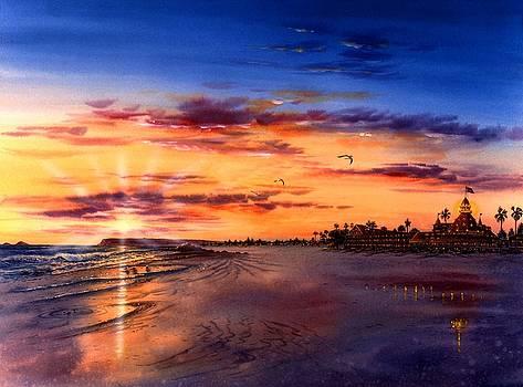 Coronado twilight by John YATO