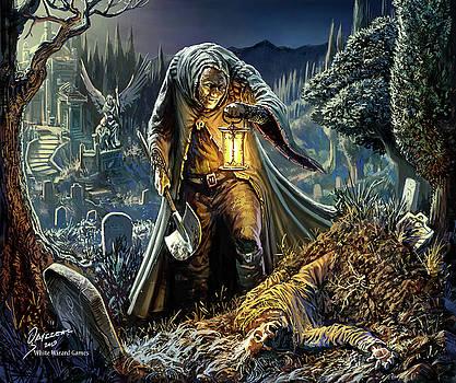 Corpse Taker by Odysseas Stamoglou