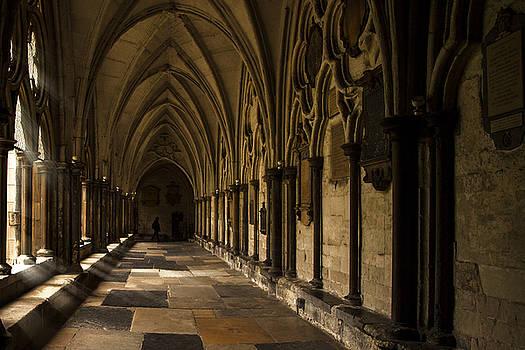 Corridor at St. Paul's by Andrew Soundarajan