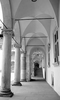 Corridor In Wawel by Keiko Richter