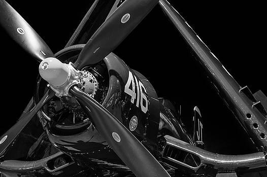 Corsair at Night - 2018 Christopher Buff, www.Aviationbuff.com by Chris Buff