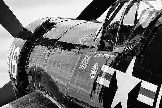 Corsair's Nose in Black and White - 2018 Christopher Buff, www.A by Chris Buff