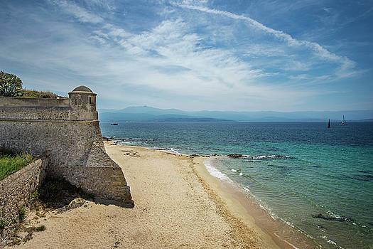 Corsica Beach by Alida Thorpe