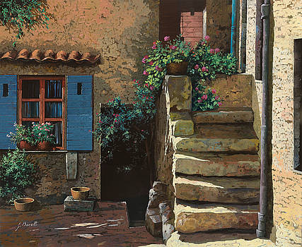 Cortile Interno by Guido Borelli