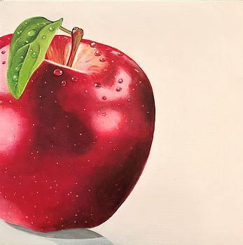 Cortland Apple by Ivy Stevens-Gupta