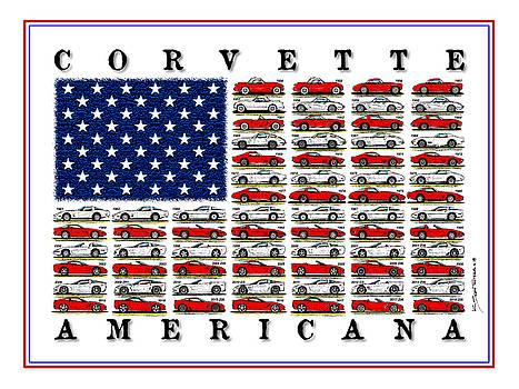 Corvette Americana by K Scott Teeters
