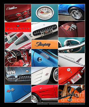 Gary Gingrich Galleries - Corvette Collage