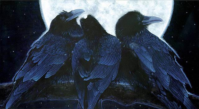 Corvus Moon by Durwood Coffey