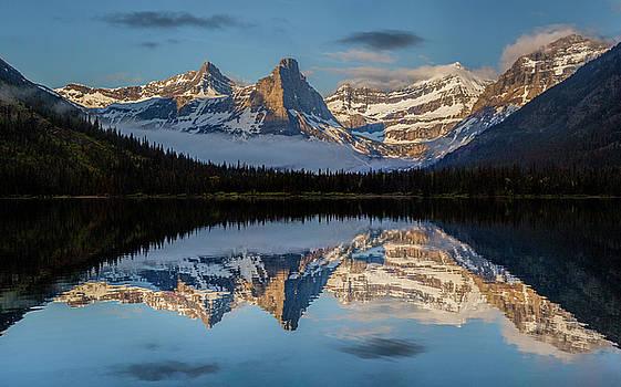Cosley Lake // Glacier National Park  by Nicholas Parker