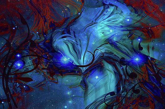 Cosmic Blue by Linda Sannuti