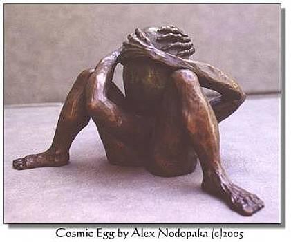 Cosmic Egg by Alex Nodopaka