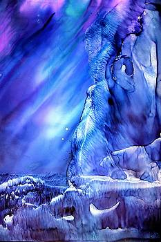 Cosmic Frozen Planet by Willie Scaife