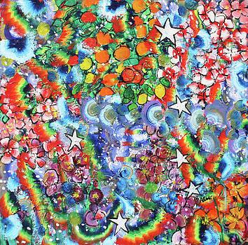 Cosmic Garden 201834 by Alyse Radenovic