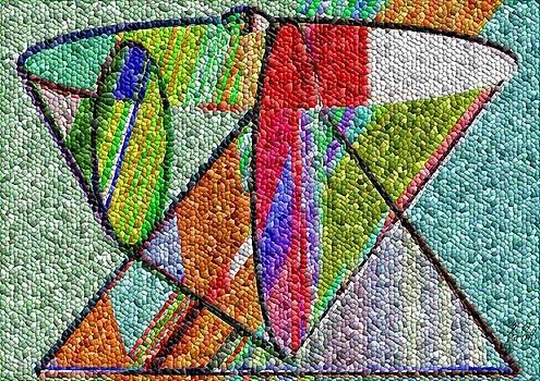 Cosmic Lifeways Mosaic by Helmut Rottler