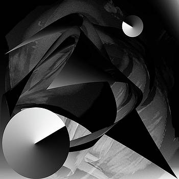 Cosmic love falling into place by Sir Josef - Social Critic -  Maha Art