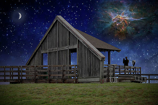 Cosmic Observation Deck by Brian Wallace