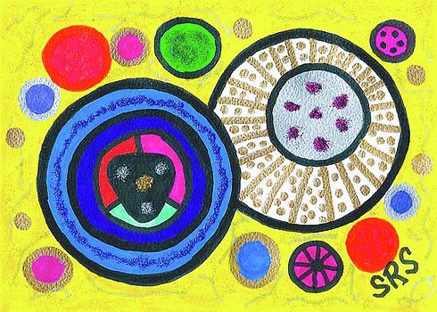 Cosmic Orbs by Susan Schanerman