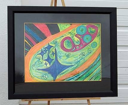 Cosmic Rainbow by Laura  Paboojian