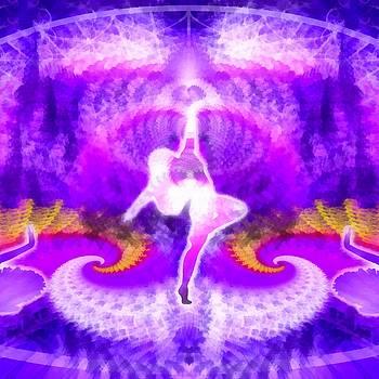 Cosmic Spiral 27 Painted by Derek Gedney