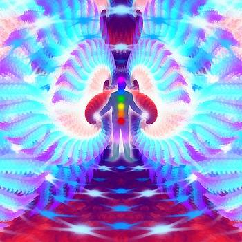Cosmic Spiral 36 Painted by Derek Gedney