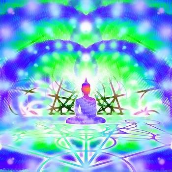 Cosmic Spiral 41 Painted by Derek Gedney