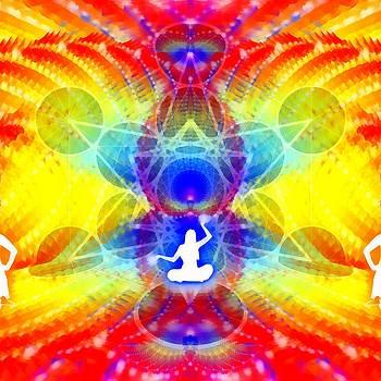 Cosmic Spiral 57 Painted by Derek Gedney