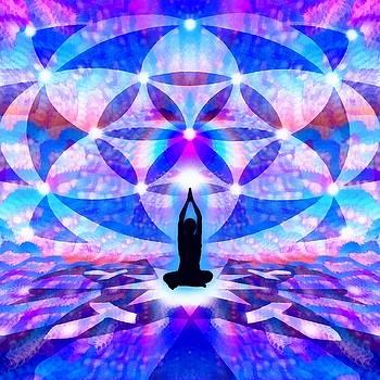 Cosmic Spiral 64 Painted by Derek Gedney