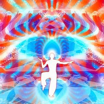 Cosmic Spiral 77 Painted by Derek Gedney
