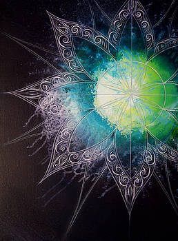 Cosmic Starburst by Reina Cottier