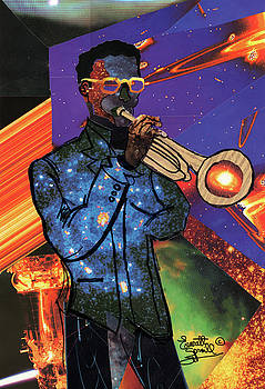 Cosmic Trumpeter by Everett Spruill