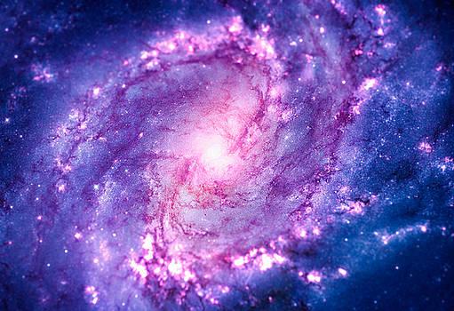 Cosmic vacuum cleaner Spiral Galaxy M83 by Philipp Rietz