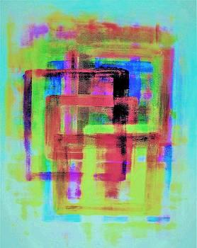 Cosmic Window Rainbow 1 by Craig Imig