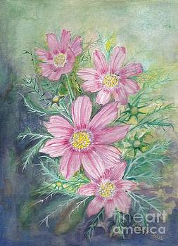 Cosmos - painting by Veronica Rickard