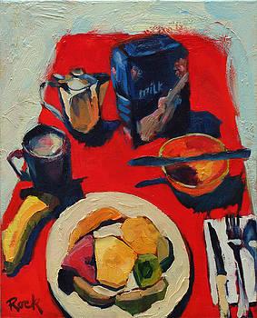Costa Rica Breakfast by Leslie Rock