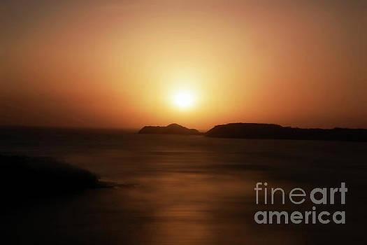 Costa Rica Sunset by Arnie Goldstein