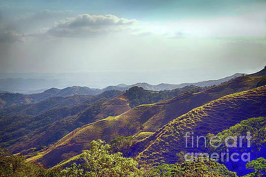 Costa Rican Mountains by Arnie Goldstein