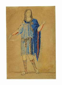 Costume design for Phaon for a production of Charles by MotionAge Designs