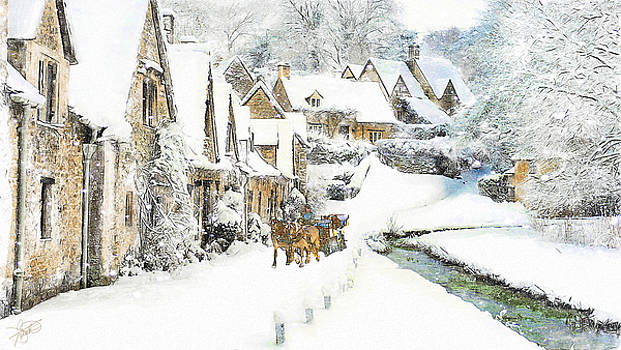 Cotswold Village by Tom Schmidt