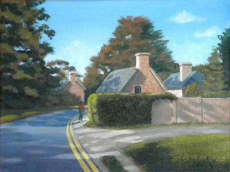 Cotswolds Cottages by Christopher Roe