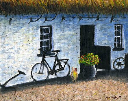 Cottage Door by Stan Sweeney