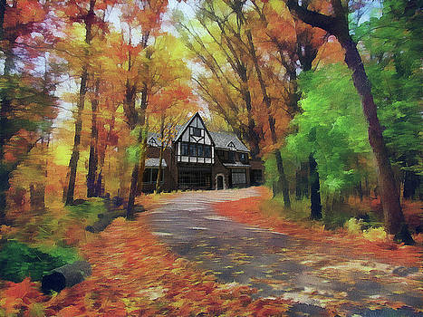 Cottage In The Woods by Cedric Hampton