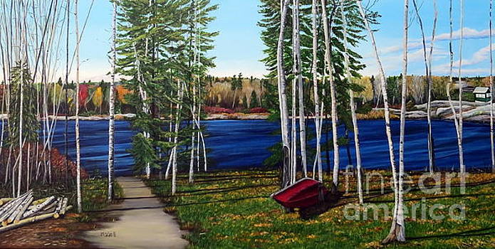 Cottage Life by Marilyn McNish
