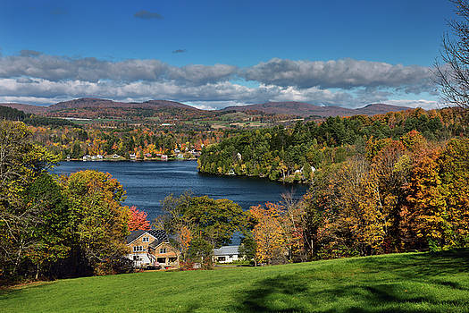 Reimar Gaertner - Cottages and houses on Harveys Lake West Barnet Vermont with tre