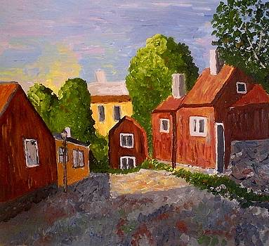Cottages in Stockholm by Mats Eriksson