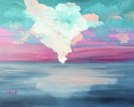 Cotton Candy Clouds by Christina Schott