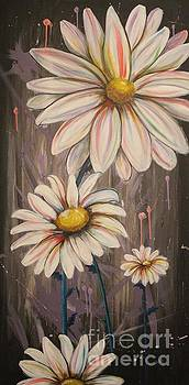 Cotton Candy Daisies by Vikki Angel