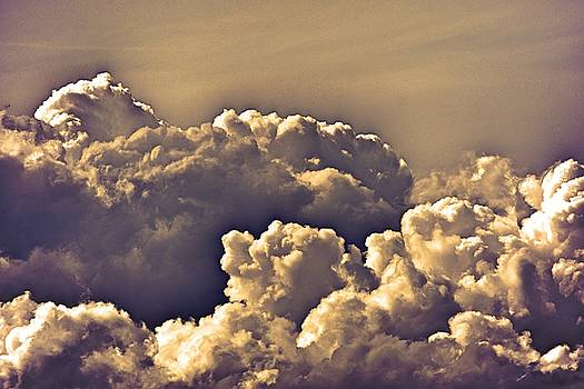 Cotton clouds by Valerie Dauce