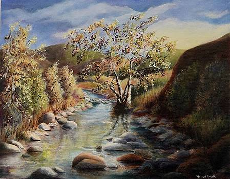 Cottonwood along Cave Creek by Michael McGrath