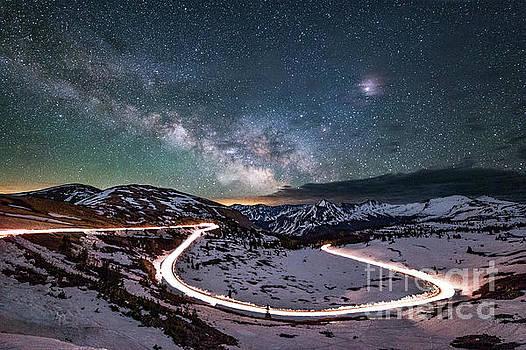 Tibor Vari - Cottonwood Pass Colorado Milky Way Galaxy